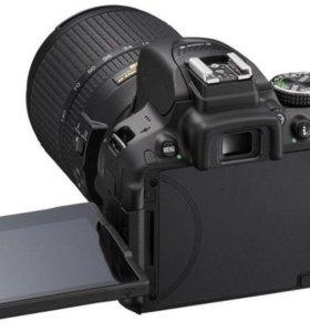 Nikon d5300(вспышка,штатив в подарок)