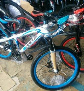 """горный детский велосипед 24"""""""