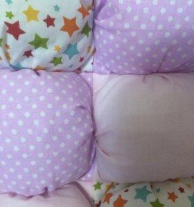 Детские бортики в кроватку.