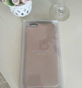 Оригинальный кожаный чехол iPhone 6 Plus