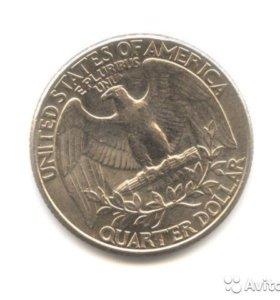 Монета Quarter Dollar 1993 года - США