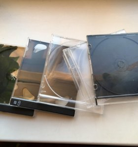 Боксы для CD/DVD дисков