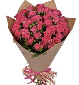 Срезанные Розы Лав Лидия напрямую из теплиц цветы