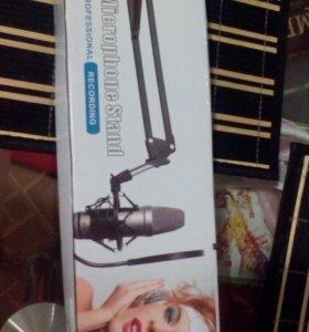 Держатель микрофона Новый в коробке