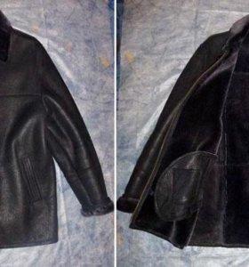 Новая мужская дубленка Demether Leather