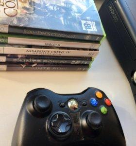 Xbox 360 + 5 дисков