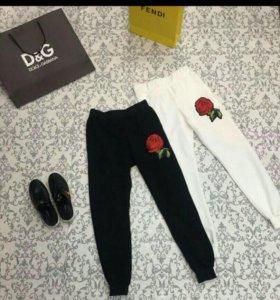 новые штаны белые с биркой