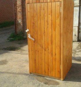 Изготовим садовые туалеты , оконные блоки и многое