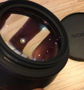 Широкоугольный конвертер Sony VCL-HG0872 фишай