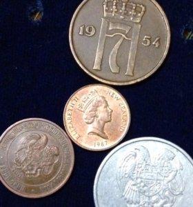 Продам монеты цена за все