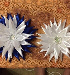 Резиночки для волос канзаши