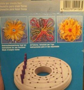 Станок для плетения цветов