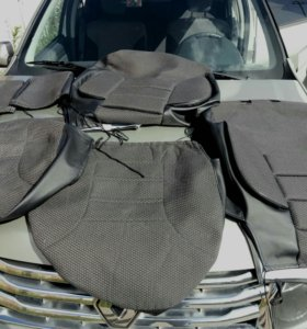 Чехлы передних сидений Renault Duster/Sandero