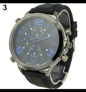 Гигантские (5,5см) мужские наручные часы!