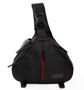 Слинг-рюкзак для фотокамеры Caden K1 чёрный