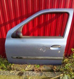Дверь передняя левая Renault Clio, Simbol