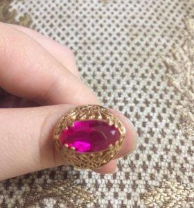 Кольцо золотое 583 проба