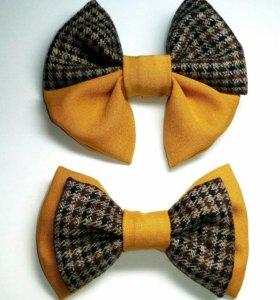 Заколки, резинки, галстуки-бабочки, броши-банты