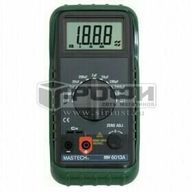 Измеритель ёмкости конденсаторов MASTECH MS-6013