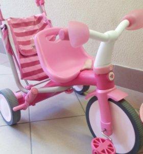 Велосипед коляска трансформер