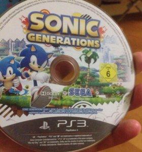 Sonic Generations игра пс3 PS3 PlayStation 3