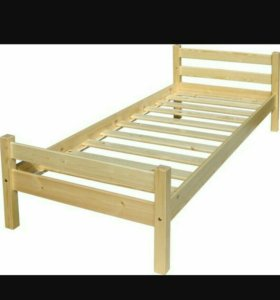Кровать деревяная