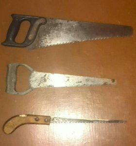 Пилы ручные, ножовки