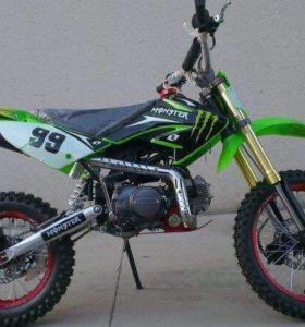 Мотоцикл кроссовый Kawasaki 110