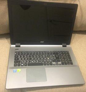 Игровой 17 дюймовый ноутбук