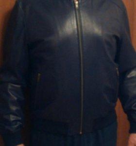 Куртка мужская из натуральной кожи, р. 48-50, нова