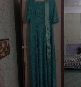 Роскошное вечернее платье р-р 52-54
