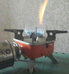 Походная плитка (газовая)