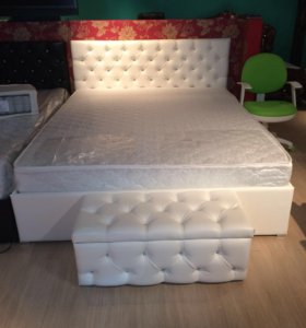 Кровать на ортопедическом 160*200