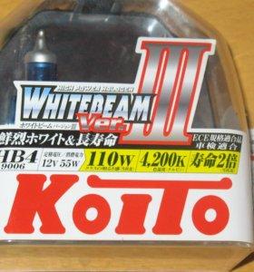 Продам лампы HB4 Koito Whitebeamiii
