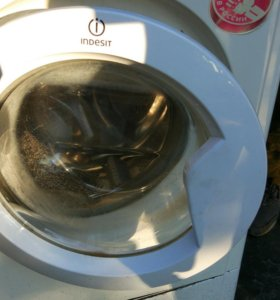 Дверка люка от стиральной машины индезит.