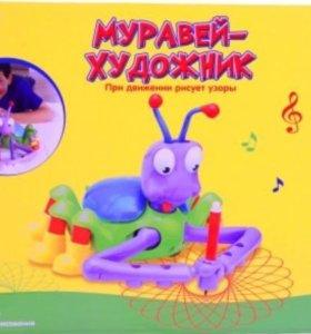 Игрушка Муравей- Художник