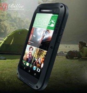 Чехлы Love Mei для HTC M7/M8/E8
