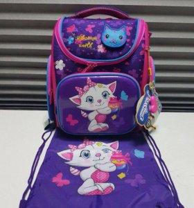 Рюкзак школьный ортопедический+сумка