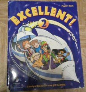 Учебник по английскому языку Excellent! 2