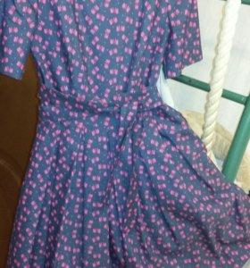 Новое платье натуральное