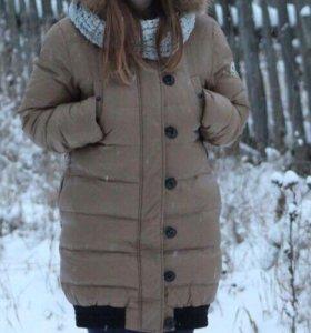 Плащ зимний