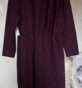 Винтажное платье 44 размер
