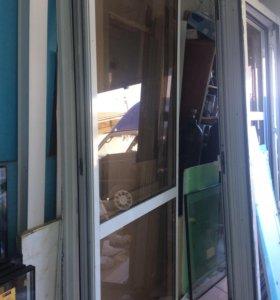 Балконные двери Алюминевые
