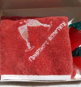 Набор из мыла и полотенца.