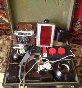 комплект оборудования для фото