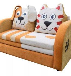 """Диван-кровать """"Кот и пёс"""""""