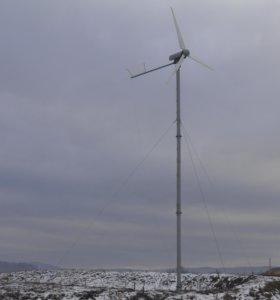 Продаю гибридную электросистему ветряк + панели