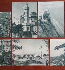Видовые открытки 1953 Крым