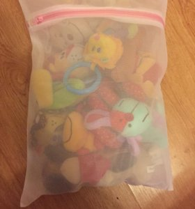 Мешки для стирки мягких игрушек