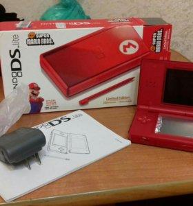 Nintendo ds lite super mario bros новая приставка